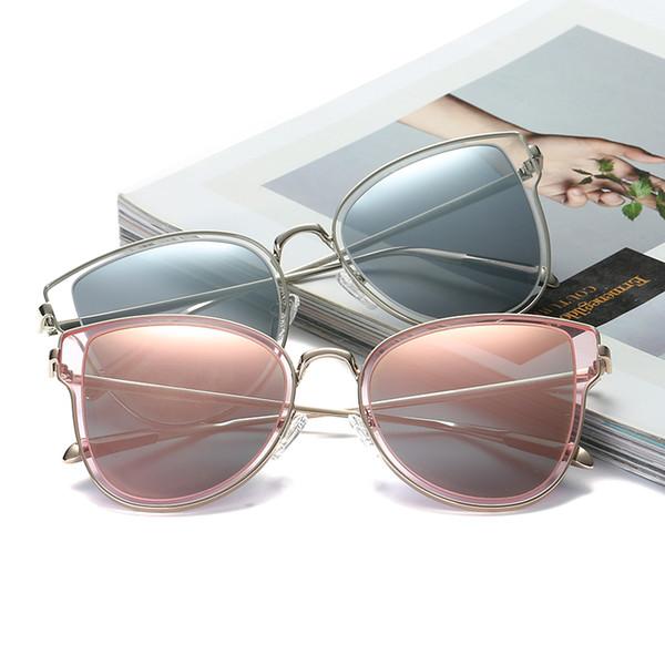 2018 Новый Круглый Кадр Поляризованные Солнцезащитные Очки Мужчины И Женщины Негабаритных Полые Яркие Солнцезащитные Очки Большие Прозрачные Очки