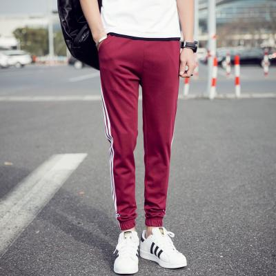Casual Pants Men Brand Skinny Mens Sweat Pant Male Cotton Sportswear Menswear Thick Warm Long Casual Trousers Straight Pant 2018