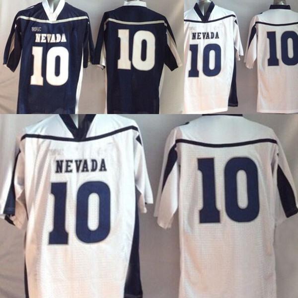 sale retailer 8fcf6 2b1c0 2018 Nevada Wolf Pack College Jerseys Mens College Nevada Wolf Pack 10  Colin Kaepernick Blue White Football Jerseys From Felixtrade, $19.04 | ...