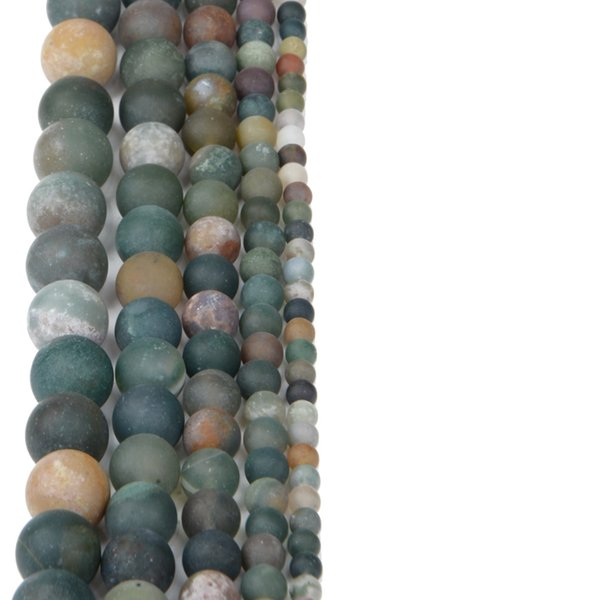 India agate 6mm about 60pcs