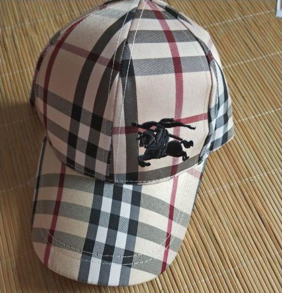 Atacado novo design bordado cavalo de guerra clássico marca chapéu de sol moda masculina e mulheres bola chapéu