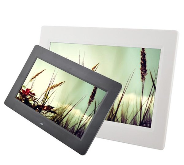 10-inch digital photo frame ultra-thin LED hd advertising machine electronic photo album gift picture frame.