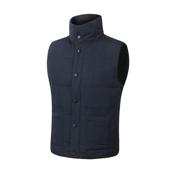 быстрая доставка Марка зимняя куртка мужская Фристайл жилет Гусь жилет вниз жилет пуховик 7 цвет c-07