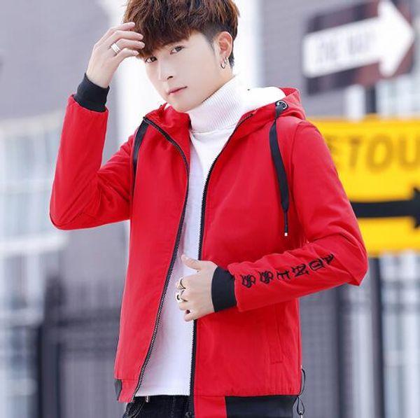 Winter warm plus velvet thick jacket men warm jackets Outerwear winter handsome clothes tide men's Coats clothing