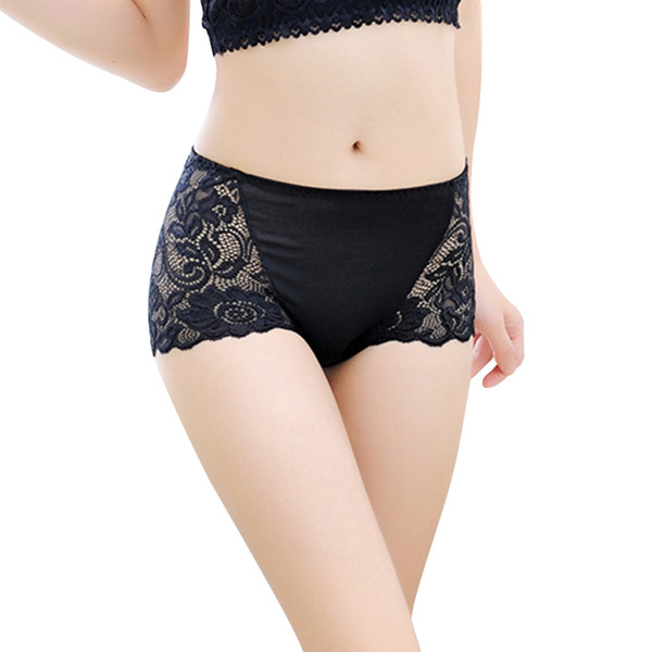 300PCS / LOT Breathable Women Large Size Briefs Modal Panties Underwear Sexy Mid Rise Panty Female Lady Brief 17 Colors