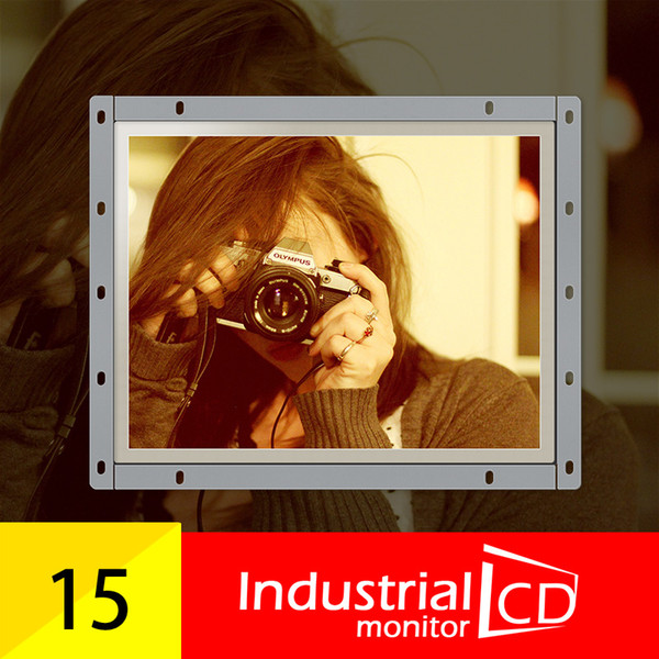 M150-OF01/ Faismars Industrial 15 inch 1024*768 LCD monitor/ 15 inch open frame monitors with VGA/AV/TV/HDMI/USB interface