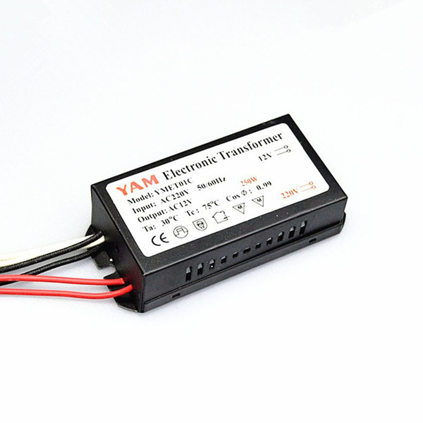 180W 200W 250W Electronic Transformer for G4 Halogen Lamps AC220V LED Lamp Driver Power Supply Converter