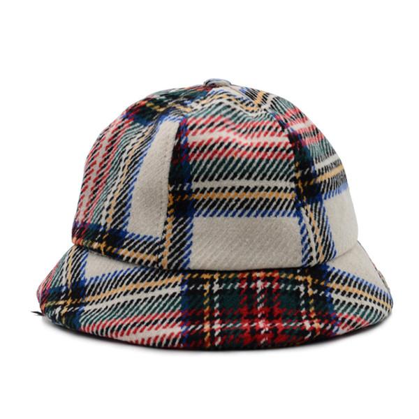 Compre Cokk Cubo Sombrero Mujeres Sombrero De Invierno Femenino ...