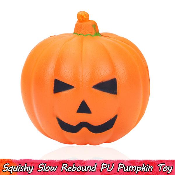 1 PCS Kawaii Pumpkin Squishy Toys Squishies Rising lento Squeeze Giocattoli per bambini Decorazioni per feste Regali di Halloween per adolescenti Ornamenti profumati per adulti