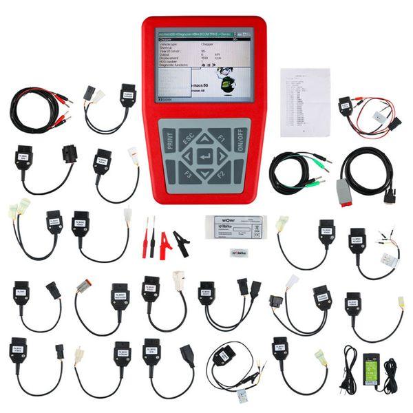 Best iQ4bike Diagnostics V40 for Motorcycles Universal Motorbike Scanner IQBike For BMW For HONDA Motorcycle Diagnostic Scanner tools