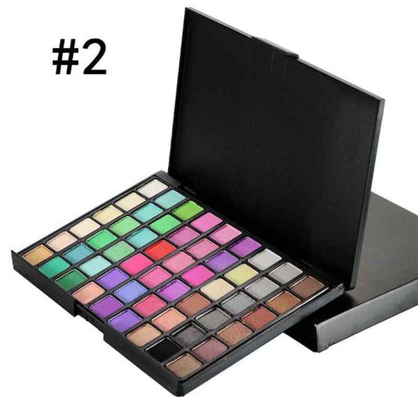 Popfeel Matte Nude Eye Shadow Make Up Palettes Eyeshadow Palettes Brands Powder Cosmetics Beauty Makeup Eyes Kits 54 Colors