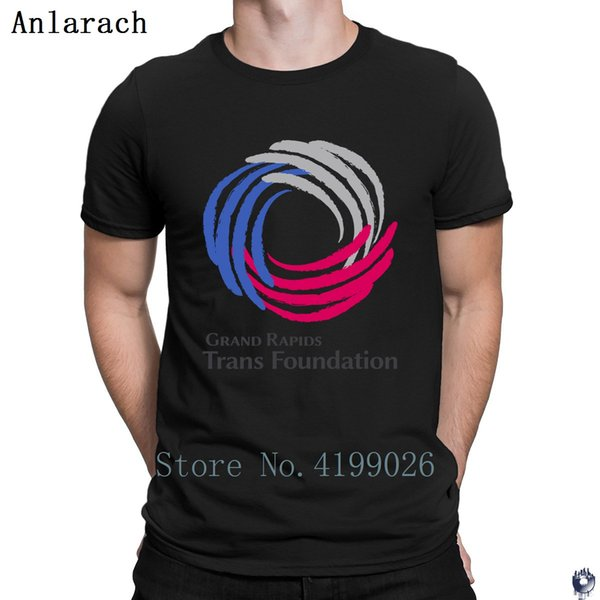 Grand Rapids Trans Foundation tshirts Pop Top Tee Design fitted The new men's tshirt Unisex Pattern Sunlight Short Sleeve