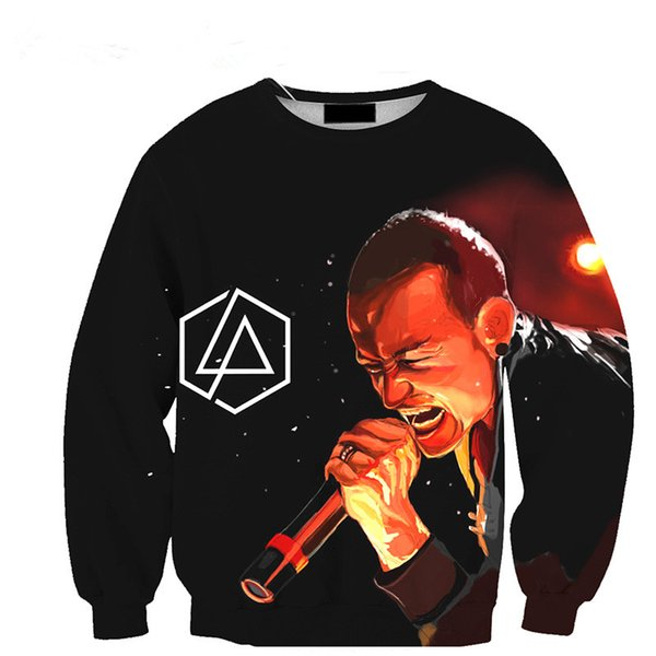 2019 New Fashion Linkin Park Chester Bennington Funny 3d Print Sweats  Fashion Clothing Women Men Sweatshirt Casual Pullovers K38 From  Superman201898,