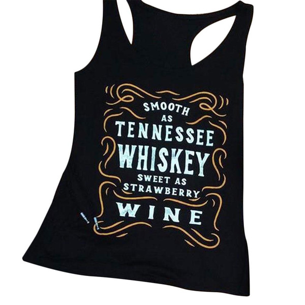 best selling Women Tank Tops Sleeveless Plus Size Letter Print O Neck Casual Tee 2018 Summer Female T Shirts 3XL Oversize Ladies Tops Tank