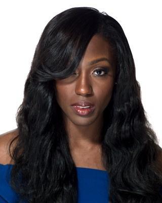 Perulu İnsan Saç Vücut Dalga Dantel Ön Peruk Siyah Kadınlar Için Doğal Renk Hızlı Kargo G-EASY