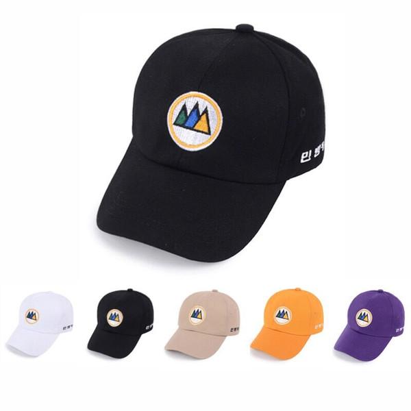 Yeni yetişkin kap nakış ağacı baba şapka rahat kap casquette hip hop snapback şapkalar kadın erkek pamuk beyzbol 5 renk şapka