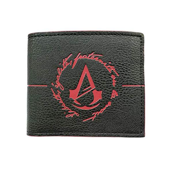 bastante agradable b6dff 46c68 Compre Billetera Corta Para Hombre Cartera De Assassin's Creed Cartera  Negra Para Juego Con Monedero De Bolsillo A $5.07 Del Douwin1688 |  DHgate.Com