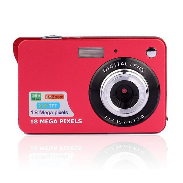 2.7 Inch TFT Lcd Display 18MP 8x Zoom Hd Digital Anti Shake Camera Digital Camcorder