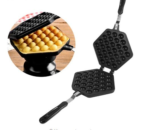 Eggs Puffs Grill Mold Baking Oven Roll Pan Aluminum Alloy Classic Burning Plate Barbecue Diy Cooking Eggs Tools Bakeware