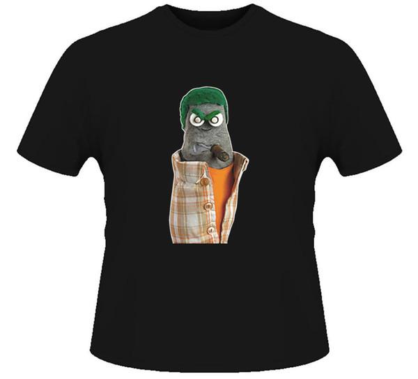 Ed The Sock Puppet T Shirt Mens 2018 fashion Brand T Shirt O-Neck 100%cotton T-Shirt Tops