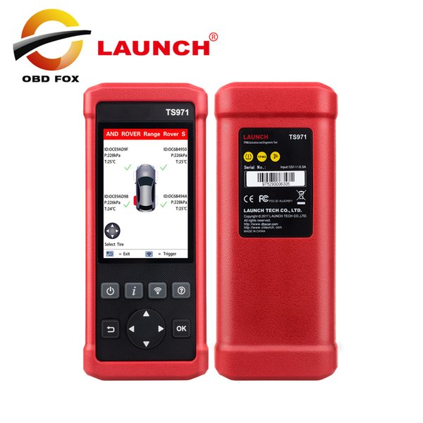 TS971 TPMS 433Mhz 315Mhz Bluetooth Activation Tool Wireless Car Tire Pressure Sensor Monitoring PK TS401 TP200 EL-50448