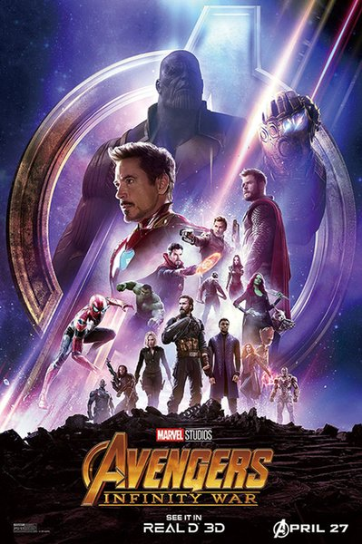 Avengers Infinity War Marvel Movie Collector's Album Poster Comic Art HD Print Wall Oil Painting Wall Art Painting Decor