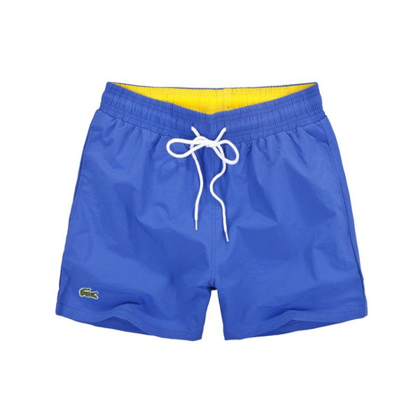 fe4d700bb3 2018 Lacoste Sale 2018 New Board Shorts Men Summer Beach Shorts High  Quality Male Letter Surf Life Men Swim Hot From Gwhua17, $19.3 | Dhgate.Com