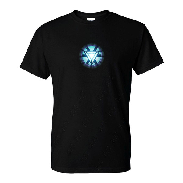 Iron Man Tony Stark Arc Reactor T-Shirt (S-5XL) Ready to ship!