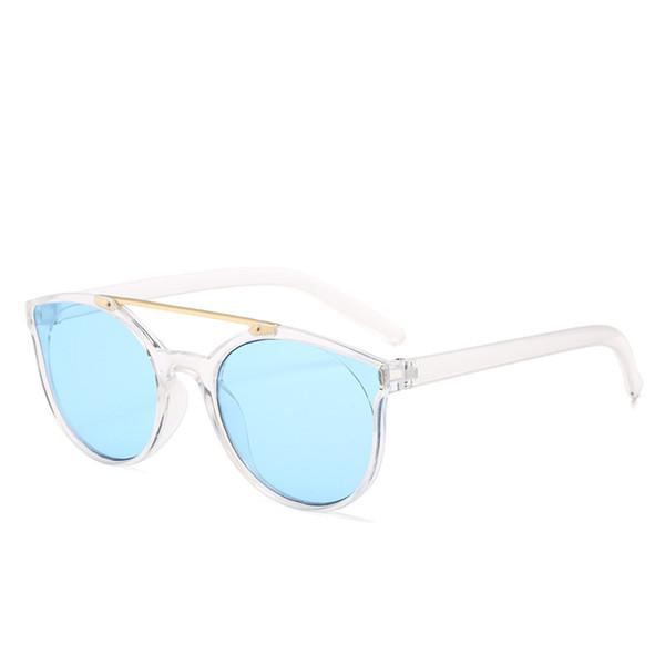 2018 Precio bajo Viga doble Uv400 Revestimiento polarizado Gafas de sol para niños Estilo de moda Gafas de sol Gafas Marco Fabricantes al por mayor