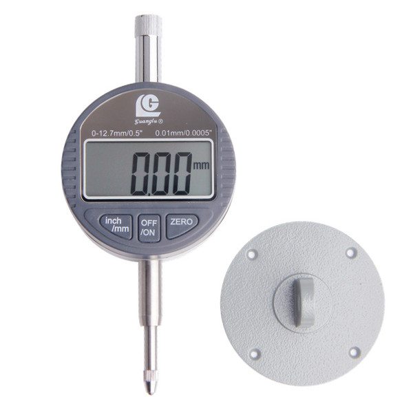 best selling Freeshipping Digital Indicator 0-12.7mm 0.01 Digital Gauge Dial Test Indicators Dial Gauge Micrometer Caliper Measure Tools