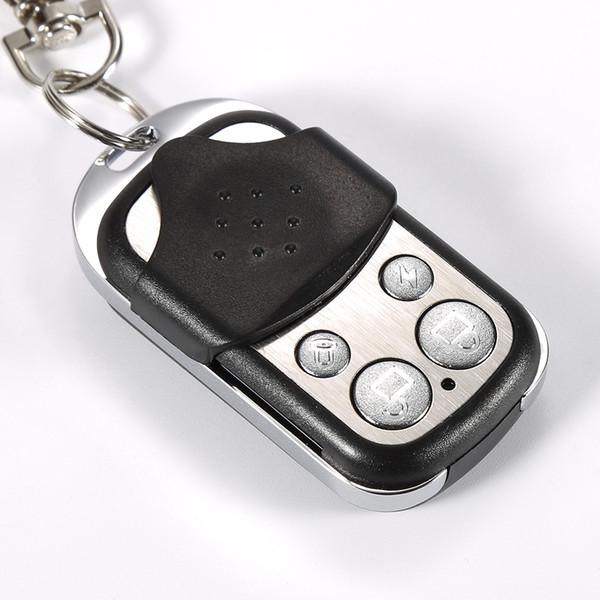 Universal 4 Channel Wireless RF Remote Control Copy 433MHz Electric Gate Garage Door Key Switch Copy Code RF Remote Contro
