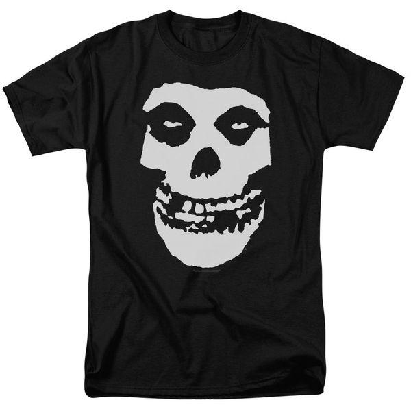 Misfits Band Klasik FIEND KAFATASı Lisanslı T-Shirt Tüm Boyutları ücretsiz kargo toptan yaz Sıcak Satış Yeni Tee Baskı Erkek T-Shirt Üst