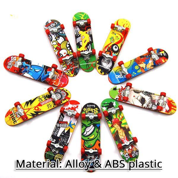 Skateboard del pattino di sport della barretta del camion della piattaforma di Finger Fingerboard della piattaforma di mini dito divertente per il regalo sveglio del giocattolo dei bambini