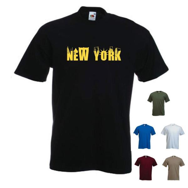 'Nueva York' - Hombre divertido de vacaciones / Ciudad / Ciudad camiseta.