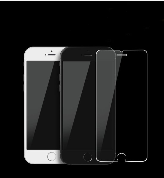 Full Cover Tempered Glass Screen Protector for Iphone 9 X plus 6 6 plus 7 7 plus Explosion-proof Oppbag