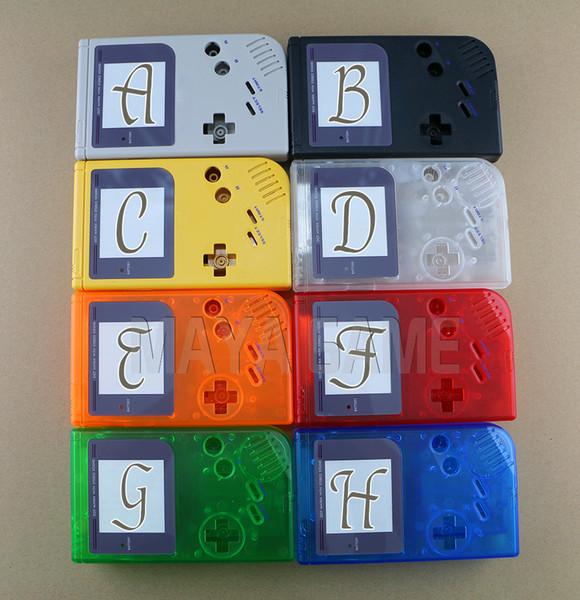 Para carcasa de repuesto Game Boy Classic Game carcasa de plástico para carcasa GB Console para carcasa GB