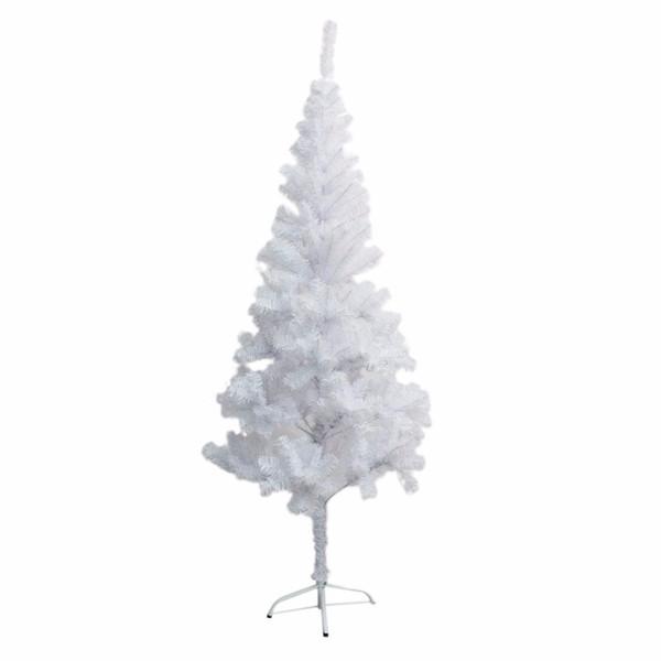 1.2m 1.5m 1.8m 2.1m 2.4m Xmas Tree With Metal Stand Folding White Pine Artificial Christmas Tree Xmas Holiday Decoration