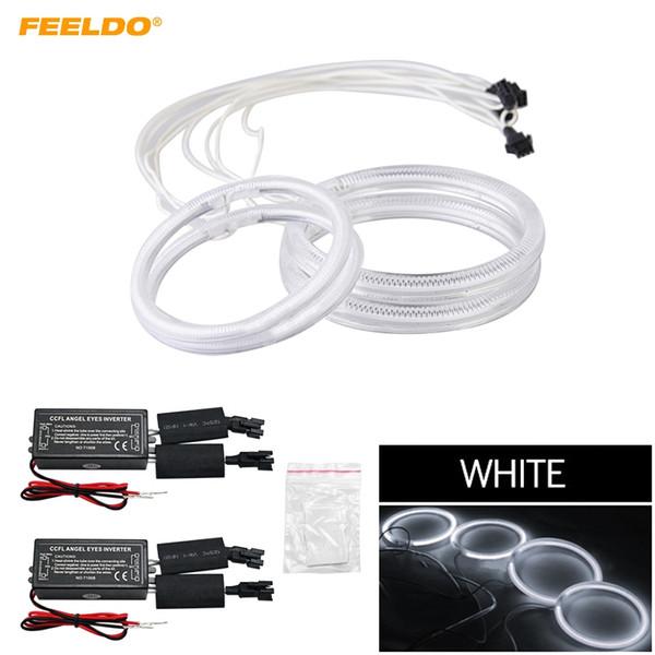 FEELDO 4x voiture CCFL Angel Eyes Lumière Halo Anneaux Kits Pour Hyundai Coupe / Phare Tiburon DRL # 3586