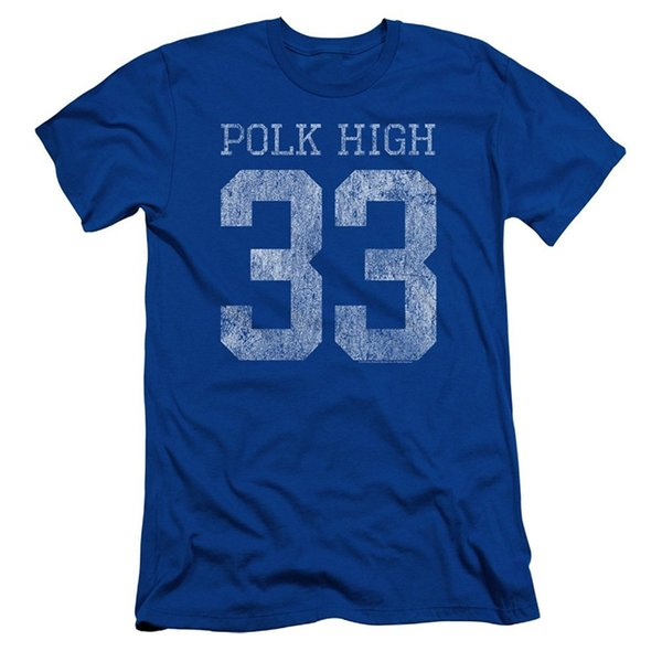 Summer The New Fashion Men's O - Neck Graphic Short Sleeve Married With Children Shirt Polk High 33 Wholesale Discount T-shirt T Shirts