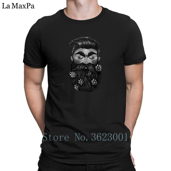 Designs Sunlight Tee Shirt For Men A Beautiful Beard Tshirt Trendy Basic T-Shirt Man Cheap Sale T Shirt Letter 100% Cotton