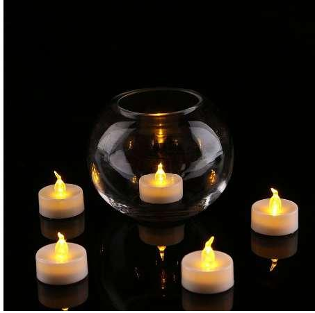 24 Pcs Led Tea Light Batteries Flickering Flameless LED Candles Bougie Electric Candles Home Wedding Birthday Party Decoration