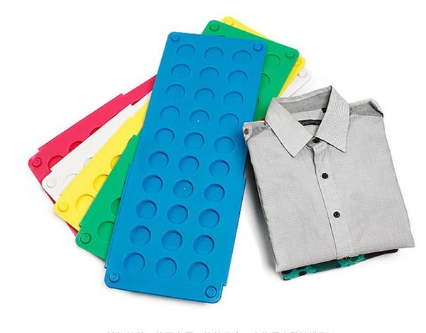 Flip Folding Board T-Shirts Magic Laundry Organizer Child Adult Clothes Folder Folding Board Random Color SN502