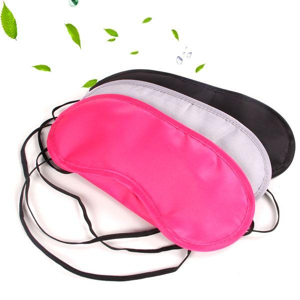 New Sleep Eye Mask Polyester Fiber Aircraft Travel Rest Protect Eyeshade Cover Soft Portable Eyepatch Hot Sale 0 63al YY
