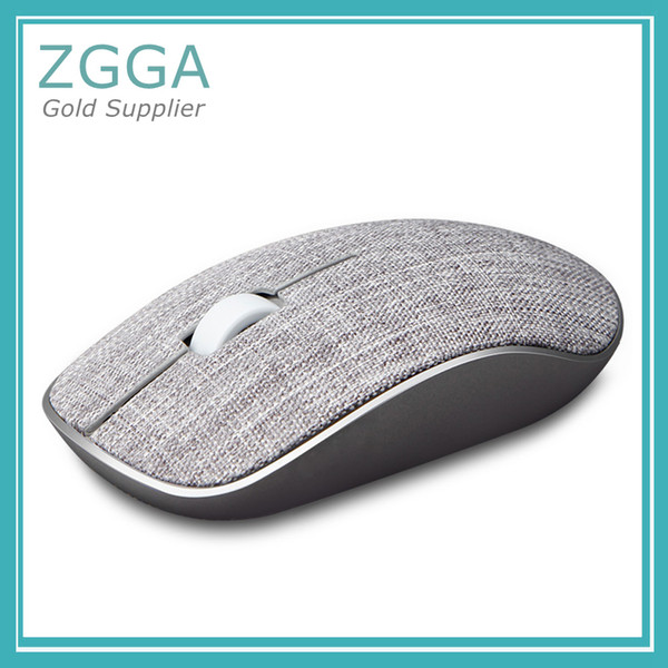 New Optical Wireless Mouse USB Gaming Mice with Soft Fabric Cover Super Slim Portable For Laptop Computer