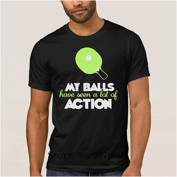 Brand La Maxpa My Balls Have Seen A Lot Of Action Fit Men's T Shirts Sunlight T-Shirt Mens Homme S-3xl Tee Shirt Mens