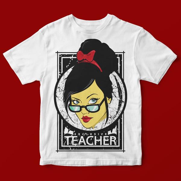 Учитель футболка мужская 1427 мужчин бренд Clothihng высокое качество мода мужская футболка 100%хлопок