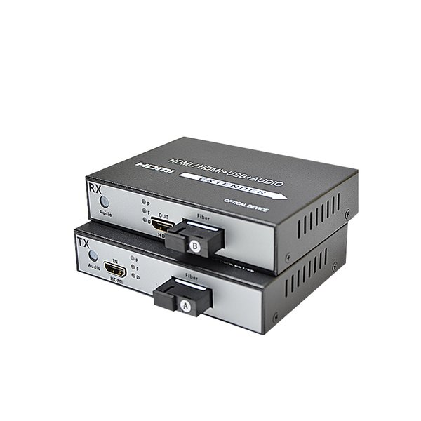 High Quality 1080P HDMI Extender Video and Audio Fiber Optical Transceiver and Transmitter SC 20KM