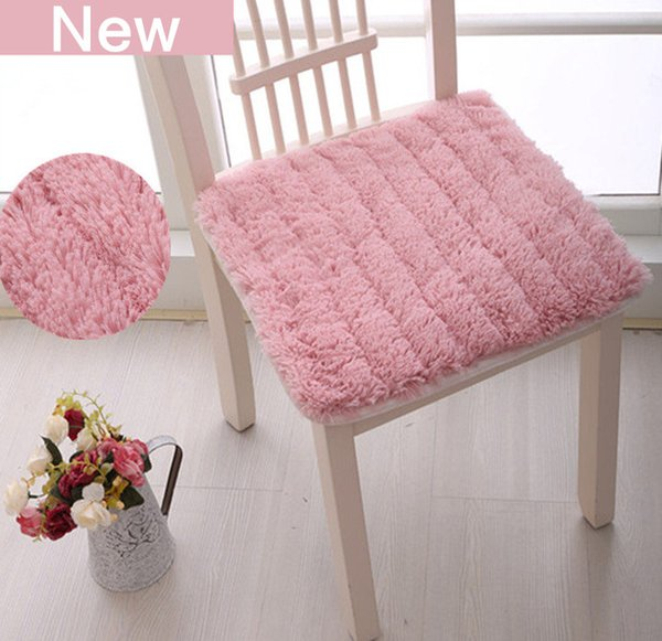 Plush Fabric Style Plush Chair Cushion Back Mat Hotsale Seat Cushions  Kitchen Chairs Soft Dining Chair Cushions Mat Almofada Decorativa Fall  Outdoor ...