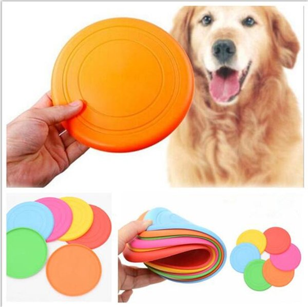 50pcs Pet Toys for Dogs Dog Frisbee Multi Colors Soft Toys Throwing Safe Non-Toxic Perfect For Pets Outdoor Playing Training C016