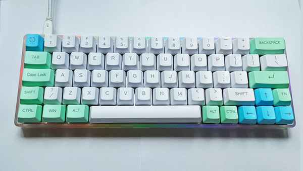 Xd60 Xd64 Diy Mechanical Keyboard Top Leds Under Glow Rgb Supports Tkg Online Offline Programming And Re Flashing Lighted Keyboards Long Range